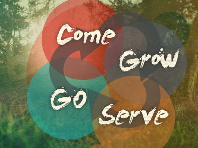 Come Grow Serve Go - series graphic
