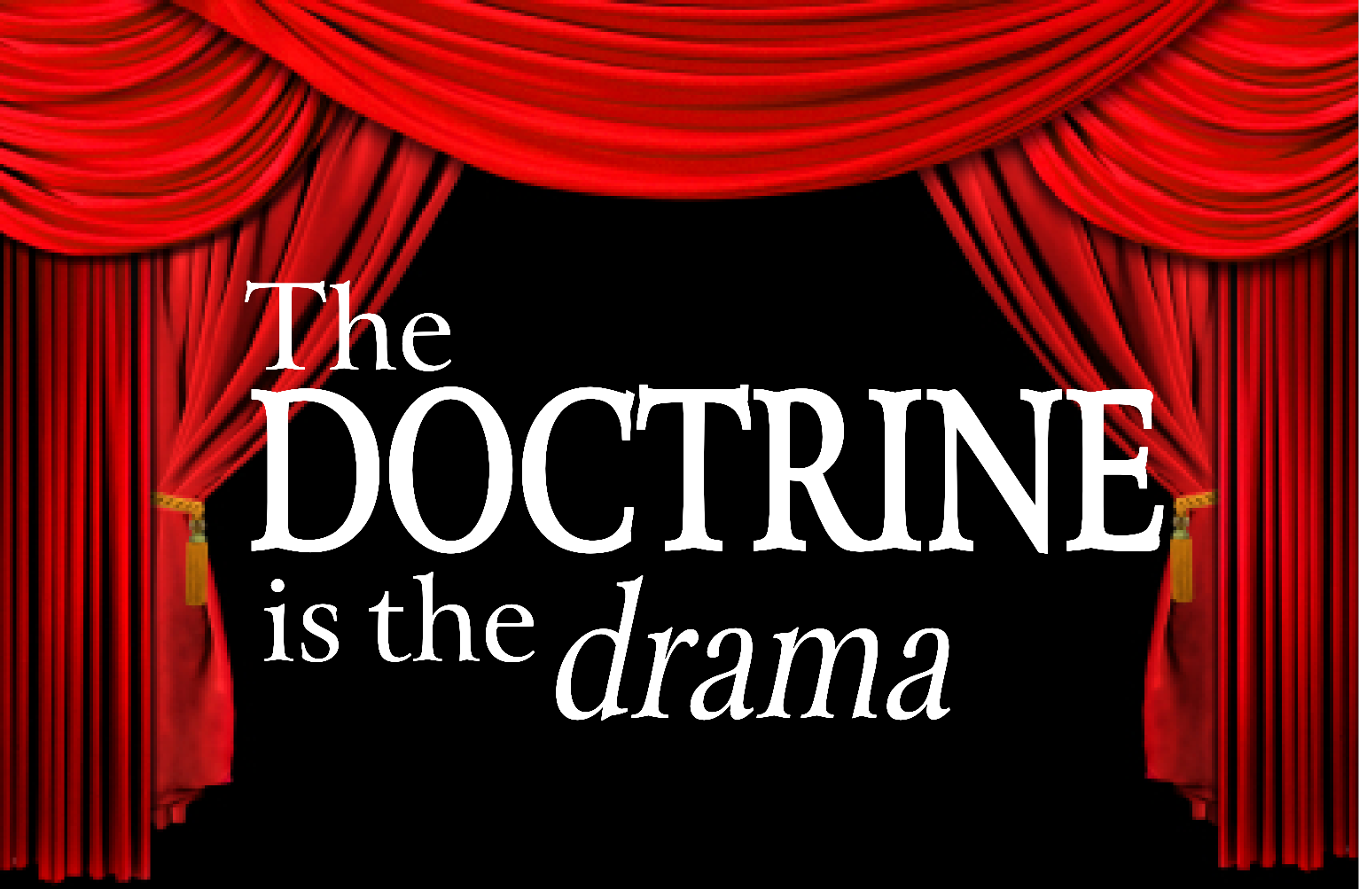 Series graphic: Doctrine is Drama